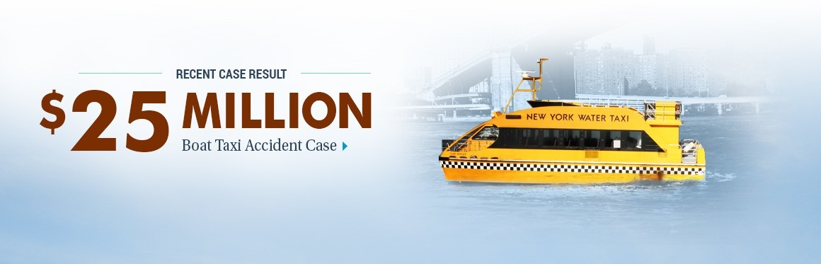 $25,000,000 Case Result - Boat Taxi/Resort Accident Case